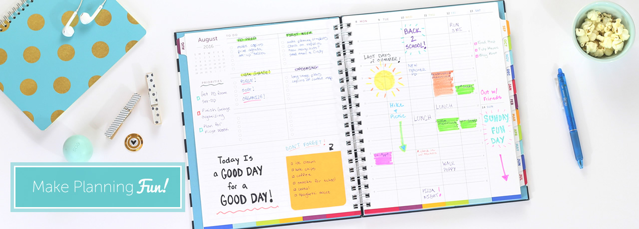 time and todo planner an innovative stylish weekly planner designed