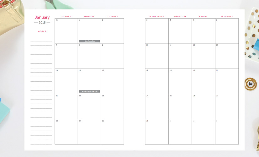 Time Amp Todo Planner 2018 Digital Download Time Amp Todo