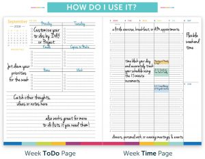 How to use the Time & ToDo Planner
