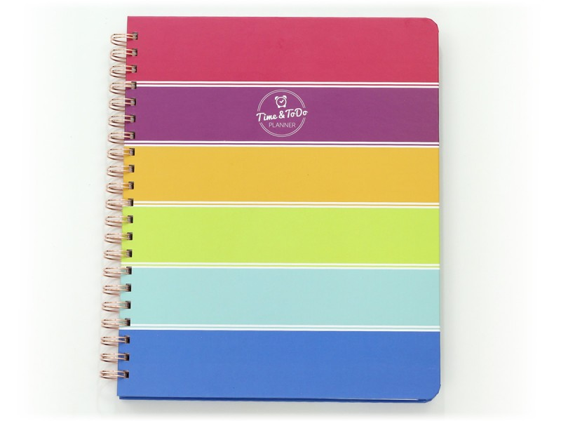 Time & ToDo Planner 2020-21 Academic Calendar: Letter Wire-bound