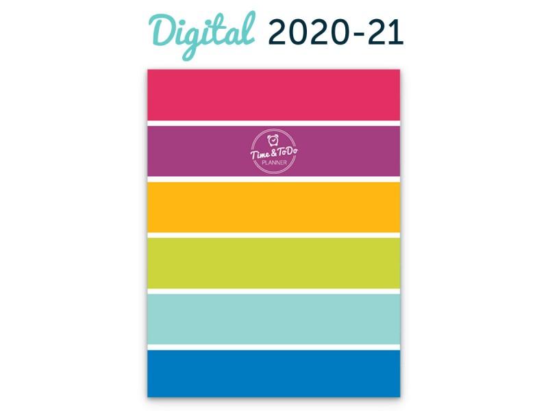 Time & ToDo Planner 2020-21: Digital Download